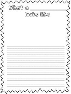 First Grade Animal Report  Graphic Organizers School And Writing