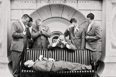 hilarious groomsmen picture #photography