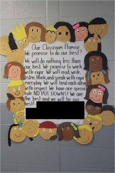 The Razzle Dazzle Classroom: Kevin Henkes Author Study {Chrysanthemum} Beginning Of The School Year, New School Year, School Fun, School Stuff, School Ideas, Classroom Promise, Future Classroom, Classroom Organization, Classroom Decor