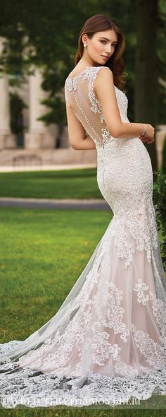 Wedding Dress by David Tutera for Mon Cheri 2017 Bridal Collection | Style No. » 117268 Sonal