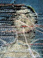 detail, 'works on paper #30' (2012) by Dutch artist Hinke Schreuders (b.1969). via the artist's site sudsandsoda