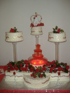 Quinceniera Cake