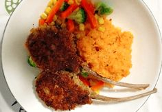 This amazing recipe creates a versatile, low carb schnitzel coating for anything you like to crumb before cooking at home. Whether it's chicken, lamb cutlets, or even<a> vegetables</a>. Low Carb Recipes, Cooking Recipes, Bread Recipes, Bread And Company, Chicken Schnitzel, Protein Bread, Cook At Home, Good Food, Brunch