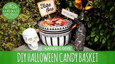 DIY Trick or Treating Candy Basket - HGTV Handmade