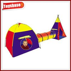 tent and tunnel  sc 1 st  Pinterest & Discovery Adventure Play Tent 3pc/set Child Kids Dome Tunnel tube ...
