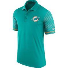 Men's Miami Dolphins Nike Aqua Early Season Dri-FIT Polo