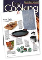 Comal featured in Fine Cooking Magazine