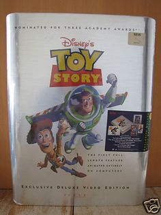 RARE Disney's TOY STORY Exclusive Deluxe Video Edition PIXAR New in Package
