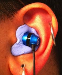In-ear headphones are great, and you can even make your own noise-isolating pair for under a dollar. However, for a few more bucks and a bit more work, you can DIY a pair of in-ear monitors custom fit to your ears.