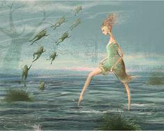 Illustration by Russian Artist Elena Lishanskaya