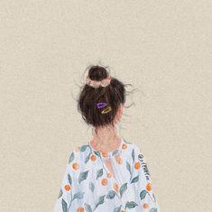 Không có mô tả ảnh. Aesthetic Couple, Aesthetic Art, Cute Girl Drawing, Cute Drawings, Cute Girl Illustration, Black Aesthetic Wallpaper, Cartoon Art Styles, Digital Art Girl, Boy Pictures