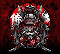 Hannya Samurai, Iphone Wallpaper Japan, Samourai Tattoo, Samurai Warrior Tattoo, Desenhos Halloween, Samurai Wallpaper, Arte Ninja, Samurai Artwork, Japanese Tattoo Art