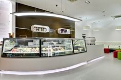 ice cream shop design - Google Search
