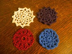 Foothills of the Great Smoky Mountains: Spool Pin Doily Pattern