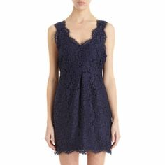 Joie Floral Lace Sleeveless Dress at Barneys.com