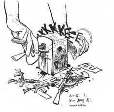 Kim Jung Gi #JeSuisCharlie #CharlieHebdo