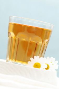 Chamomile tea is good for sore throats. Also, 2 teaspoons honey and fresh lemon juice in hot water, let cool or even drink it cold if you don't like hot drinks.