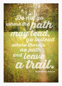 Where the Path May Lead Lettering Design Graduation Card