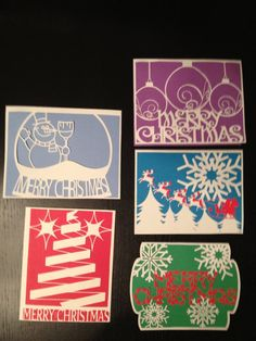 Handmade Paper Cut Christmas Cards by SketchMyLife