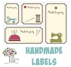 Looking for your next project? You're going to love Quilt Labels  by designer The Sewing Loft. - via @Craftsy