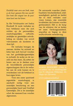 Achterflap van Het verhalenpaleis van Saskia Rosdorff #hetverhalenpaleis #leerverhalen #verhalen #boeken #levensbeschouwing #spiritualiteit