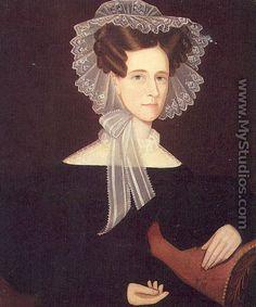 Portrait 1835 | Mrs. Day 1835 - Ammi Phillips