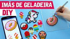 DIY | Unicórnio, Donuts e Sorvetes