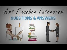 Art Teacher Interview Questions & Answers Video Teacher Interview Questions, Teacher Interviews, Easy Art For Kids, Art Lessons For Kids, Classroom Art Projects, Art Classroom, Question And Answer, This Or That Questions, Drawing Journal