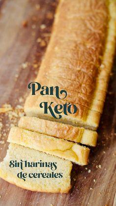 Keto Banana Bread, Keto Bread, Gluten Free Recipes Videos, Low Carb Recipes, Comida Keto, Twisted Recipes, Bread Alternatives, Sin Gluten, Low Carb Keto