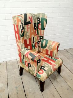 Children's Chair. via Etsy.