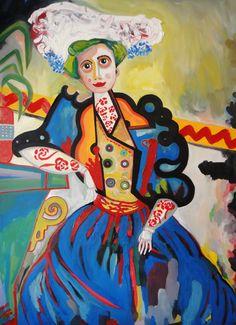 A mulher de Amadeo por Souza Cardoso Modernisme, Art Station, Journal Covers, Paint Designs, Contemporary Paintings, Traditional Art, Love Art, Female Art, Art Boards