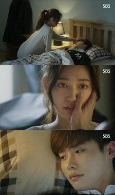 Park Shin Hye & Lee Jong Suk. Pinocchio ep 13.