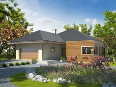 Projekt domu AC Margaret G2 - DOM AE9-85 - gotowy projekt domu
