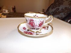 English Bone China Royal Chelsea Made In England Cup and Saucer