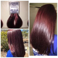 Ion Ammonia Free Hair Color 5rr Light Intense Red Brown