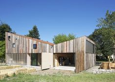 Meier Road Barn by Mork Ulnes Architects
