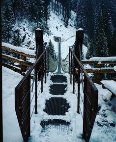 Ponte sospeso Cascata Ragaiolo