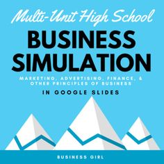 Get jazzed up for this multi-unit business simulation! This simulation provides students with 8 business content tasks based on the scenario of owning their own service-based small business. This resource is in Google Slides. The link to copy the file and a rubric for grading is provided. Topics covered include: business ownership, designing a logo, e-mail etiquette, marketing mix, invoice, ethical decision making, writing a job description, and creating a budget. Google Slides + Canva!