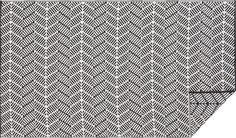 seattle reversible indoor-outdoor rug  | CB2