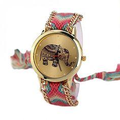 reloj+con+pulsera+de+cuero+de+PIKMODE+por+DaWanda.com