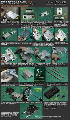 An incredible DIY DSLR RIG step by step with parts and tools found ... | DIY DSLR for Video | Scoop.it