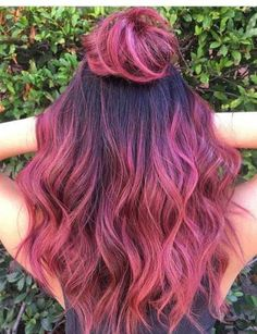 Trendy Hair Goals Color Pink 31 Ideas Related posts: 20 Trendy Hair Color Ideas Ideen für platinblondes Haar 30 More Edgy Hair Color Ideas Worth Trying Red or Pink Hair Color Tones-Hellblonde Highlights Pink Ombre Hair, Hair Color Purple, Hair Dye Colors, Cool Hair Color, Ombre Color, Brown And Pink Hair, Rose Pink Hair, Wild Hair Colors, Dyed Hair Pink