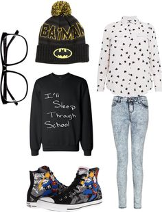 Outfit inspired by: BlockB