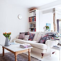 Living room | Modern country East Sussex house | House tour | PHOTO GALLERY | Country Homes and Interiors | Housetohome.co.uk