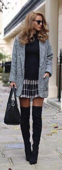 Black & gray.