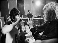 Cute shot of Brian and Keith
