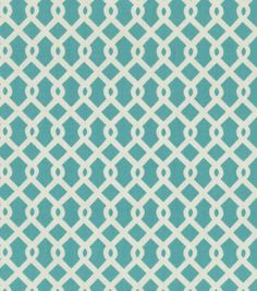 Home Decor Upholstery Fabric-Waverly Ellis / TurquoiseHome Decor Upholstery Fabric-Waverly Ellis / Turquoise, Joann Fabrics - Bench