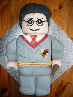 Harry Potter Lego cake, via Flickr.