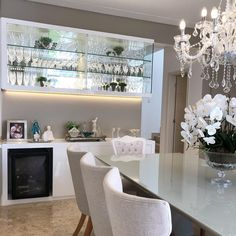 Dining Room Wall Decor, Kitchen Furniture Storage, Decor, Modern Home Interior Design, Dining Table Marble, Apartment Living Room Layout, Modern Home Bar, Living Room Designs, Interior Design