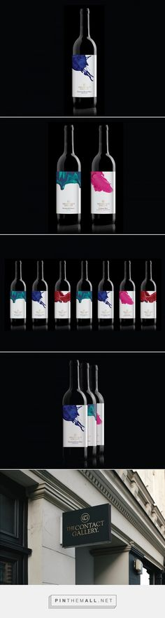 The Contact Gallery Wine Selections - Packaging of the World - Creative Package Design Gallery - http://www.packagingoftheworld.com/2016/11/the-contact-gallery-wine-selections.html